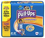 Pull-Ups Training Pants with Learning Designs, Boys, 4T-5T, 44 Count