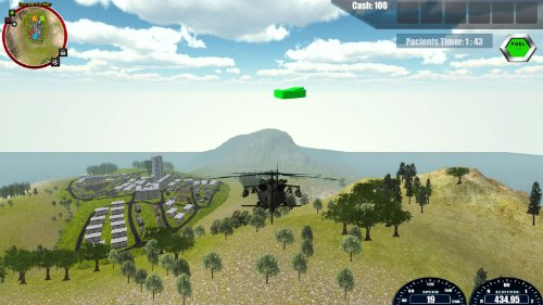 Rescue Helicopter Simulator 2014  screenshot