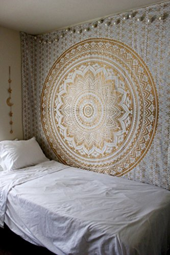 original-gold-ombre-twin-size-tapestry-by-rawyalcrafts-mandala-hippie-tapestry-hippie-wall-hanging-t