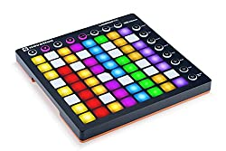 Novation AMS-LAUNCHPAD-S-MK2 with 64GB Backlit Pads Launchpad Ableton Live Controller, 8 x 8 Grid