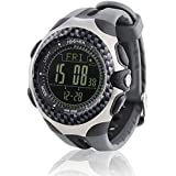 spovan® Multifunction Wristwatch Altitude Mountaineering Barometer Compass Stopwatch Backlight For Outdoor Sports Hiking Camping
