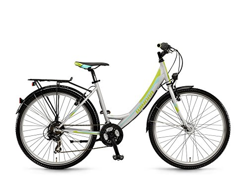 Winora Rowdy ER 26 Zoll Citybike Silber/Lime/Teal Lime (2016), 44