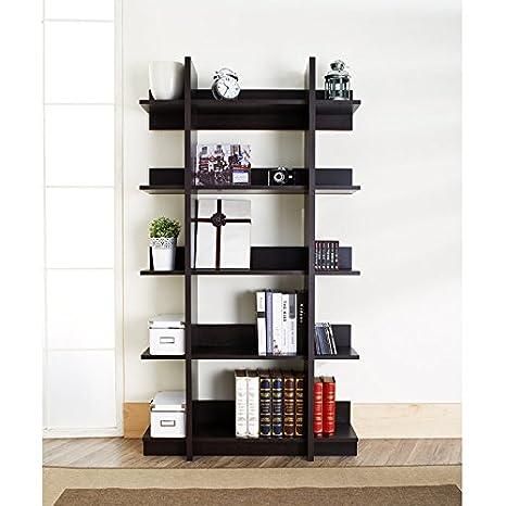 Mollino Way 5-Tier Bookshelf