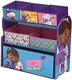 Delta Children Doc Mcstuffins Multi-Bin Toy Organizer