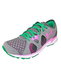 Under Armour Micro G Neo Mantis Womens Running Shoes Grey New In Box