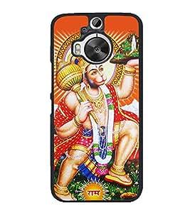Lord Hanuman 2D Hard Polycarbonate Designer Back Case Cover for HTC One M9 Plus :: HTC One M9+ :: HTC One M9+ Supreme Camera