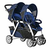 Twin stroller Chicco Together Deep Blue