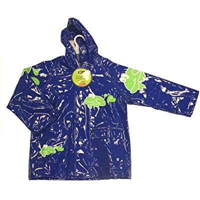 Yeominis Frog Pvc Lined Raincoat