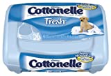 Cottonelle Fresh Folded Moist Wipes Tub 42