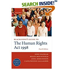 Blackstones Guide to the Human Rights Act