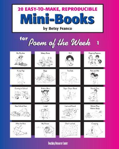 Mini-Books for Poem of the Week 1: 20 Easy-To-Make Reproducible Mini-Books