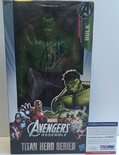 Legend!!! Stan Lee Marvel Signed Avengers The Hulk 12In Action Figure (Hulk 12 Inch Action Figure compare prices)