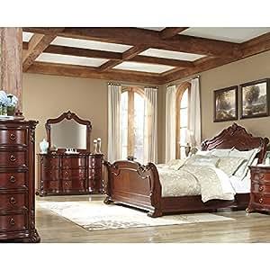 martanny sleigh bedroom set