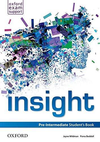 Insight Pre-Intermediate: Student's Book