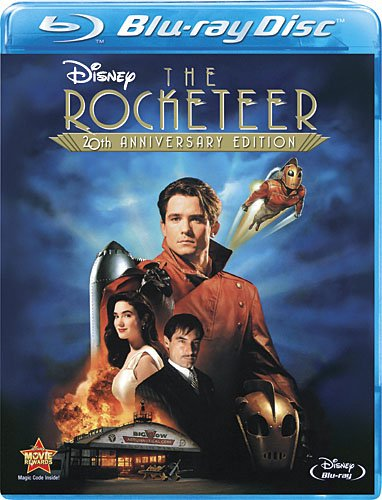 Cover art for  The Rocketeer: 20th Anniversary Edition [Blu-ray]