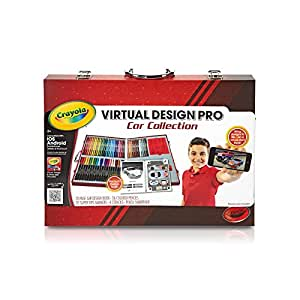 Crayola Virtual Design Pro Cars Set Toys Games
