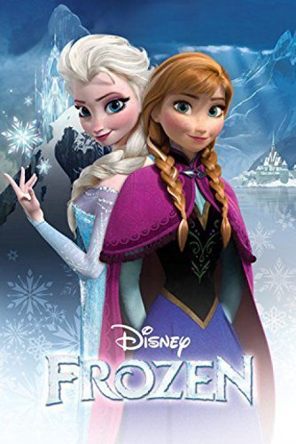 1 X Posters: Frozen Poster - Anna And Elsa  by Trends Intern