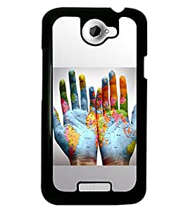 PRINTSWAG MAPS Designer Back Cover Case for HTC ONE X
