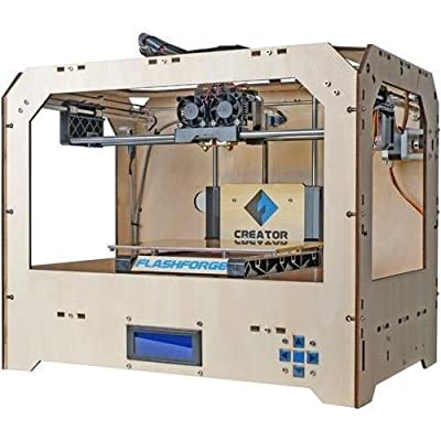 Super Creator 3D Printer with Dual Extruder (Wood Case)