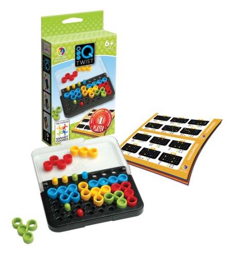 Smart Games - IQ Twist, juego de ingenio de viaje con retos progresivos (SG488IB)