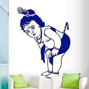 DeStudio Krishna Flip Chalkboard Wall Decal, Size XXX Large & Color : BLUE