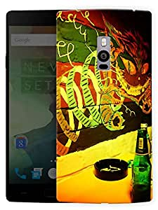 "Humor Gang Wall Graffiti Printed Designer Mobile Back Cover For ""OnePlus Two"" (3D, Matte, Premium Quality Snap On Case)"