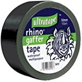 Rhino 50mm 50mtr Multipurpose Gaffer Tape Black