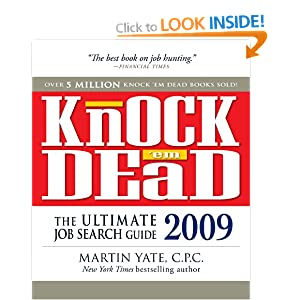 Image: Cover of Knock 'em Dead: The Ultimate Job Search Guide