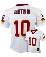 Washington Redskins #10 Robert Griffin III NFL Youth Boys Jersey - White Large (14/16)
