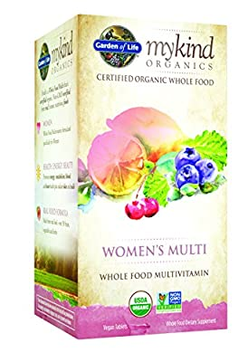 Garden of Life - mykind Organics Women's Multi Whole Food Multivitamin