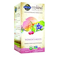 Garden of Life mykind Organics Women's Multi, 120 Organic Tablet