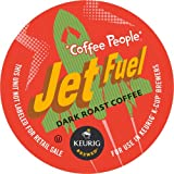 Keurig, Coffee People, Jet Fuel, 50 Count K-Cup Packs