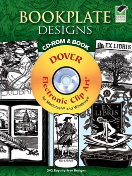 Bookplate Designs CD-Rom & Book