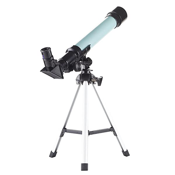 Kidcia Telescope for Kids Educational Preschool Science Telescope Plastic Toy for Beginners My First Telescope 3 Magnification Eyepieces and Tripod En