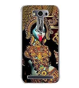 Maa Kaali 2D Hard Polycarbonate Designer Back Case Cover for Asus Zenfone Selfie ZD551KL