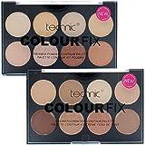 Technic Duo Colour Fix Set Includes 8 Colour Foundation Palette & 8 Colour Contour Kit