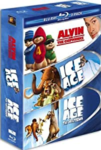 Family Blu-ray 3-Pack (Alvin and the Chipmunks / Ice Age / Ice Age 2)