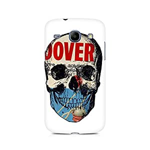 Mobicture Skull Abstract Premium Printed Case For Samsung Core I8262