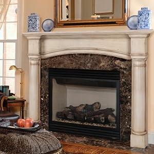 Amazon Com 48 Quot Princeton Fireplace Mantel Finish French