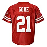 NFL San Francisco 49ers Youth Player Name and Number Team Replica Jersey (Age 4-18)