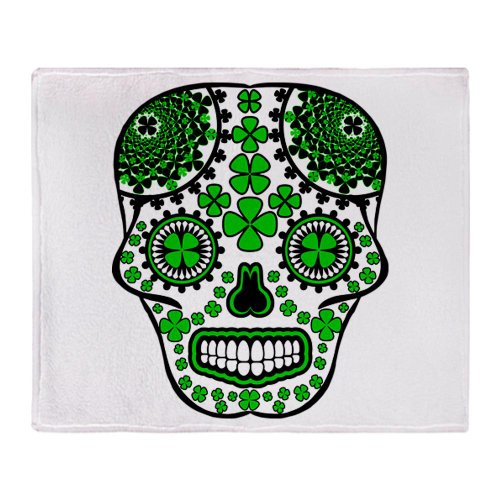 Skull Throw Blanket front-1073209