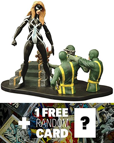 Arachne: Marvel Select x Diamond Select Action Figure + 1 FREE Official Marvel Trading Card Bundle