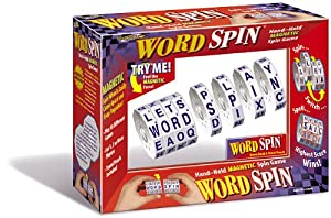 Word Spin Hand Held Magnetic Game