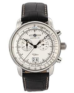 Zeppelin Watches Men's Quartz Watch 7690-1 76901 with Leather Strap