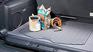 Highland 4501000 Gray Custom Fit Rubber Cargo Mat