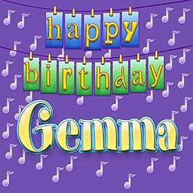 happy birthday gemma personalized ingrid dumosch from the album happy