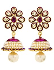 Akshim Multicolour Alloy Earrings For Women - B00NPY9ATK