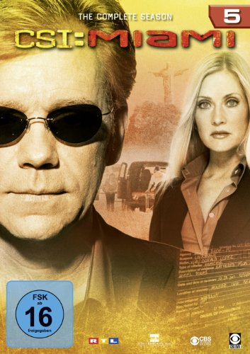 CSI: Miami - Die komplette Season 5 [6 DVDs]