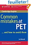 Common Mistakes at PET...and How to A...