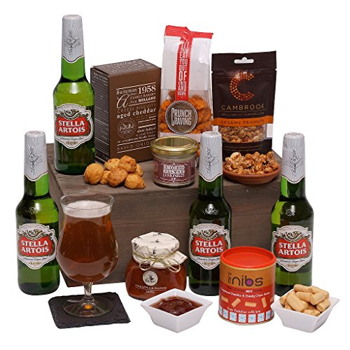 Beers and Bites - Beer Hampers and Gift Baskets - The Perfect Gift For The Man Who Has Everything